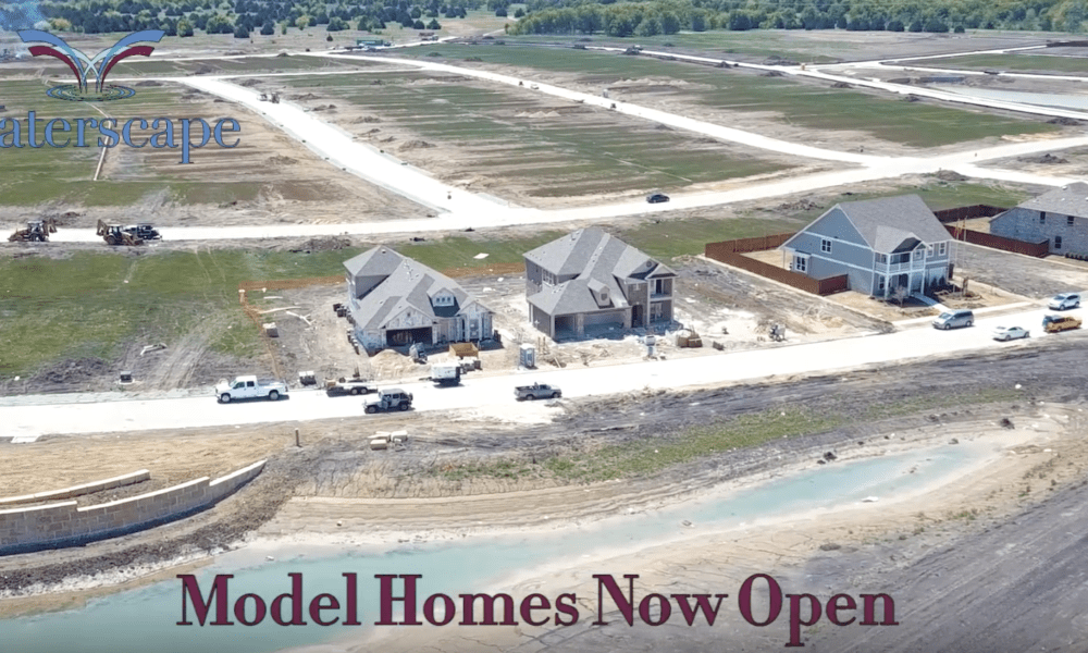 Waterscape Development Progress – Model Homes Now Open! (Drone Video)