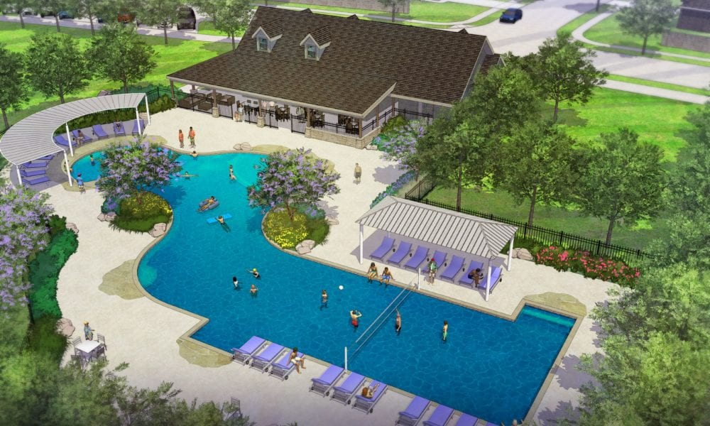 Waterscape Amenity Center Rendering