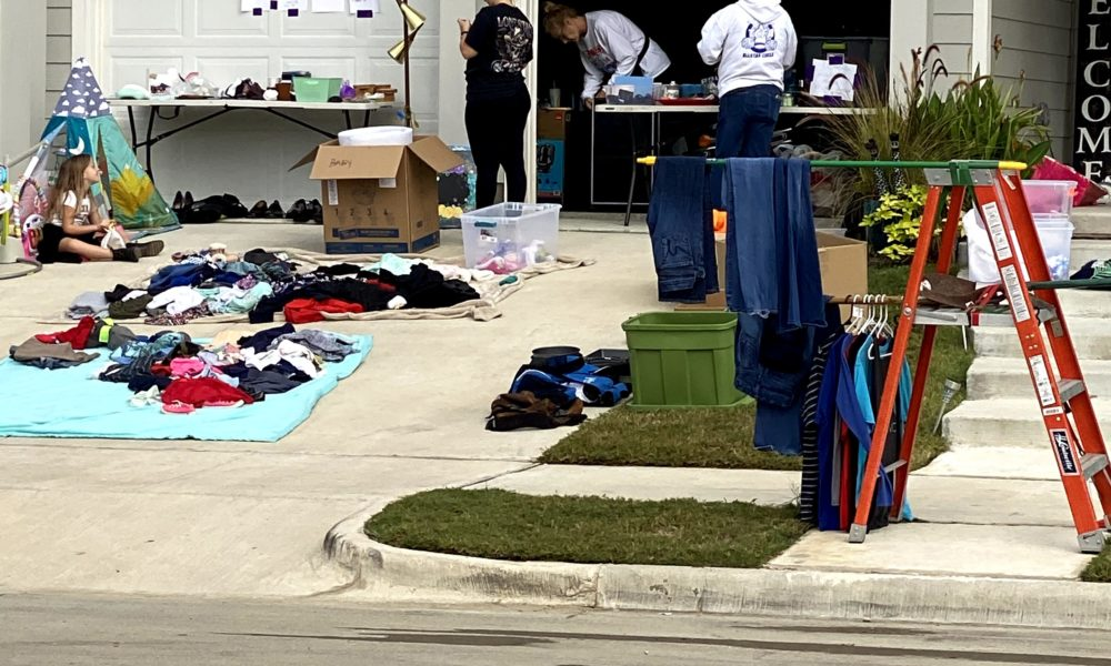 Waterscape Holds First Annual Community Garage Sale